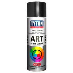 Tinta Spray Alta Temperatura Preto 400ml