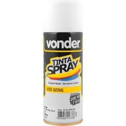Tinta Em Spray Branca Fosca Com 200 ml