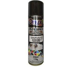 Tinta Spray Preto Brilhante 250ml/ 170g