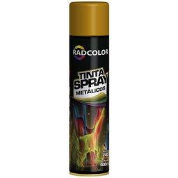 Tinta Spray Metálica Ouro 400ml/ 240g