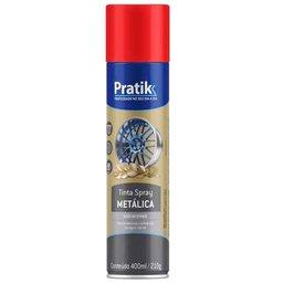 Tinta Spray Metálica Vermelha 400ml