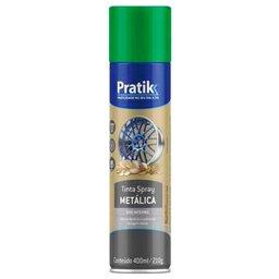Tinta Spray Metálica Verde 400ml