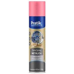 Tinta Spray Metálica Rosa 400ml