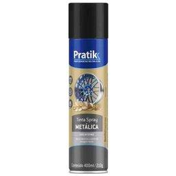 Tinta Spray Metálica Preto 400ml