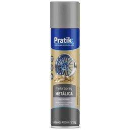 Tinta Spray Metálica Prata 400ml