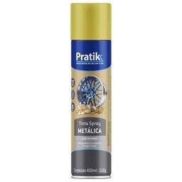 Tinta Spray Metálica Ouro Clássico 400ml
