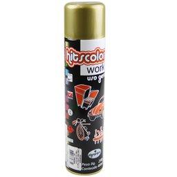 Tinta Spray Dourado com 400 ML