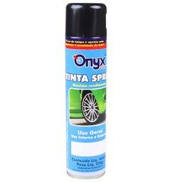 Tinta Spray Uso Geral Preto Brilhante 400ml