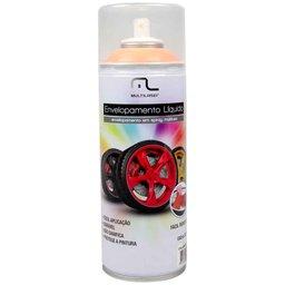 Envelopamento Líquido Laranja Fluorescente em Spray - 400ml