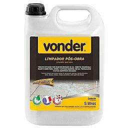 Limpador Pós Obra Biodegradável 5 Litros