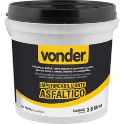 Impermeabilizante Asfáltico 3,6 L