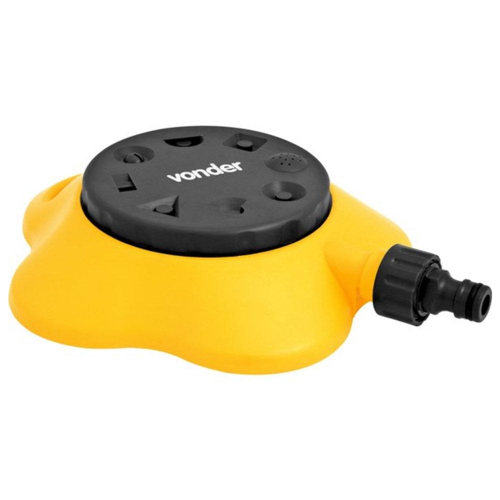 Irrigador Plástico Múltiplo com Conector para Engate Rápido 3/4 Pol.