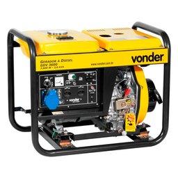 Gerador de Energia a Diesel Monofásico 3,6KVA Bivolt