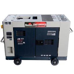 Gerador de Energia Cabinado 12,65 kVA à Diesel 220V Trifásico - TDWG12000SGE3D