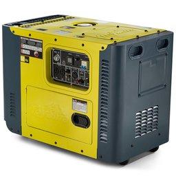 Gerador de Energia a Diesel Cabinado Trifásico 8,1kVA 13HP Partida Elétrica