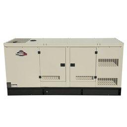 Gerador de Energia á Diesel Silenciado 62,5 Kva Trifásico 220 V  Partida Elétrica