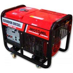 Gerador de Energia a Diesel 12KVA Monofásico 110V / Trifásico 220V