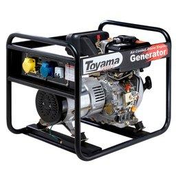 Gerador de Energia à Diesel 4T 296CC 3,3KVA Monofásico Bivolt