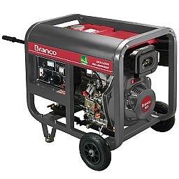 Gerador de Energia à Diesel BD 6500 5,5KVA 10CV 220V Monofásico com Partida Manual