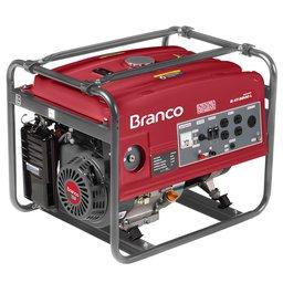 Gerador de Energia à Gasolina B4T 6500 13,0CV 5,5KVA Mono com Partida Elétrica