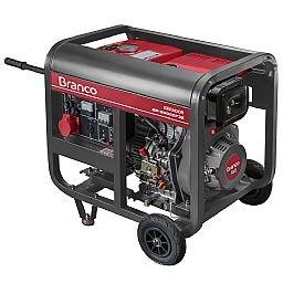 Gerador de Energia à Diesel BD 6500 5,0KVA 10CV Trifásico 220V com Partida Elétrrica