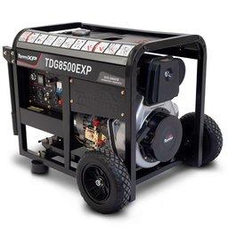 Gerador de Energia a Diesel Aberto 4T 498CC 7,0 Kva Bivolt Monofásico