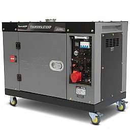 Gerador de Energia Cabinado a Diesel 4T 498cc 7,5KVA Trifásico 220V Partida Elétrica