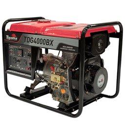 Gerador a Diesel TDG4000BX Mono 296CC 3.3kVA com Partida Manual