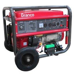 Gerador de Energia à Gasolina 6,5 kVA 15HP 110/220V com Partida Manual