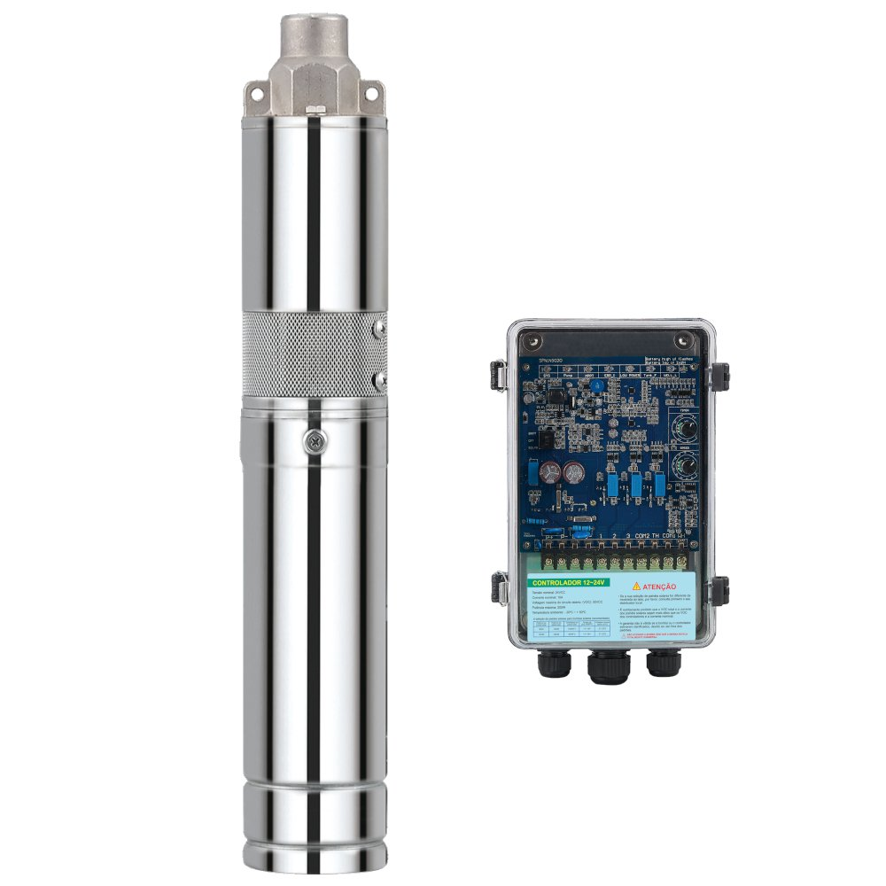 Gerador de Energia para Bomba Solar 3P 24V 120W 40/760