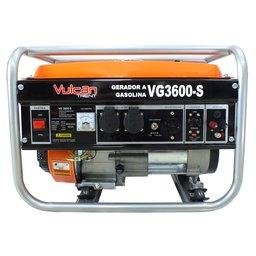 Gerador de Energia à Gasolina 4T Partida Manual 208CC Monofásico Bivolt VG3600S