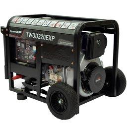Gerador/Soldador á Diesel 4T Partida Elétrica e Manual 4.0kw 220V