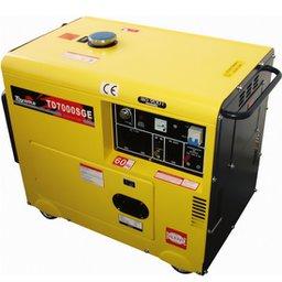Gerador de Energia Cabinado a Diesel 4T Partida Elétrica 6 Kva 110/220V
