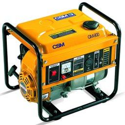 Gerador de Energia Portátil à Gasolina GM900 4T 1,0 Kva  Partida Manual