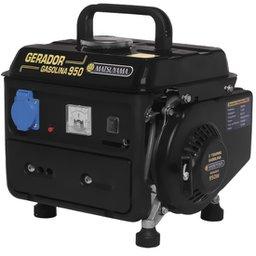 Gerador de Energia Portátil à Gasolina 2T Partida Manual 0,95 Kva 220v