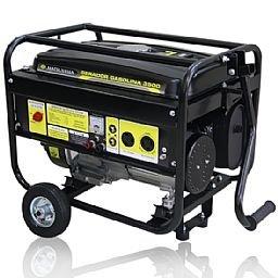 Gerador de Energia à Gasolina 4T Partida Manual 3,0Kva 110/220V