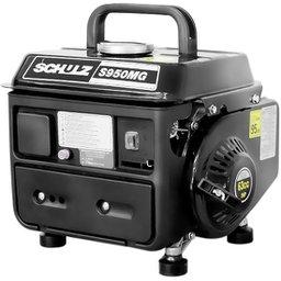 Gerador de Energia Portátil à Gasolina 2T Partida Manual 0,95 Kva 110V