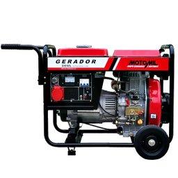 Gerador de Energia à Diesel 4T Partida Manual 6,5 Kva 110/220V