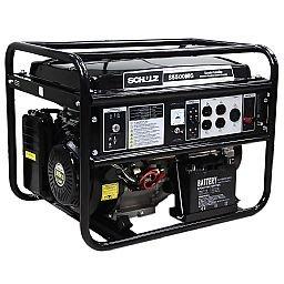 Gerador de Energia à Gasolina 4T Partida Eletrica e Manual 5,5 Kva Bivolt com AVR