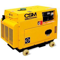 Gerador de Energia à Diesel 4T Partida Elétrica 4,5Kva 6HP 110/220V