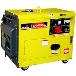 Gerador à Diesel Cabinado Partida Elétrica 418CC Trifásico 380V