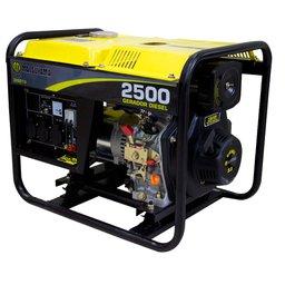 Gerador de Energia à Diesel 4T Partida Manual 2,2 Kva 110/220V