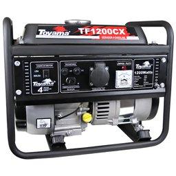 Gerador de Energia à Gasolina 4T Partida Manual 1,05Kva 110V