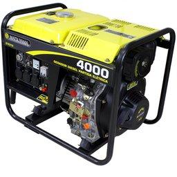 Gerador à Diesel 4000 Monofásico Partida Elétrica 110/220V