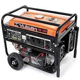 Gerador de Energia à Gasolina 4T Partida Elétrica com Bateria 7,20kVA Bivolt