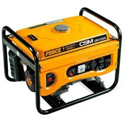 Gerador de Energia à Gasolina Portátil Partida Manual 6,0 Kva 110/220V