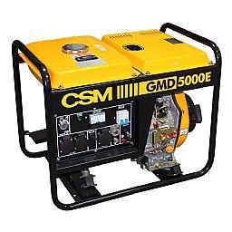 Gerador de Energia à Diesel Monofásico 4,5Kva Bivolt - GMD 5000E
