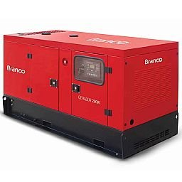 Gerador de Energia Cabinado a Diesel 4T 21kVA Monofásico com ATS - BD-21000 ES