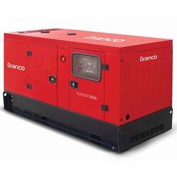 Gerador de Energia Cabinado a Diesel 4T 26,25kVA Monofásico 220V com ATS - BD-26000 ES