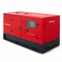 Gerador de Energia Cabinado a Diesel 4T 32,5kVA 220/380V com ATS - BD-33.000 E3 S